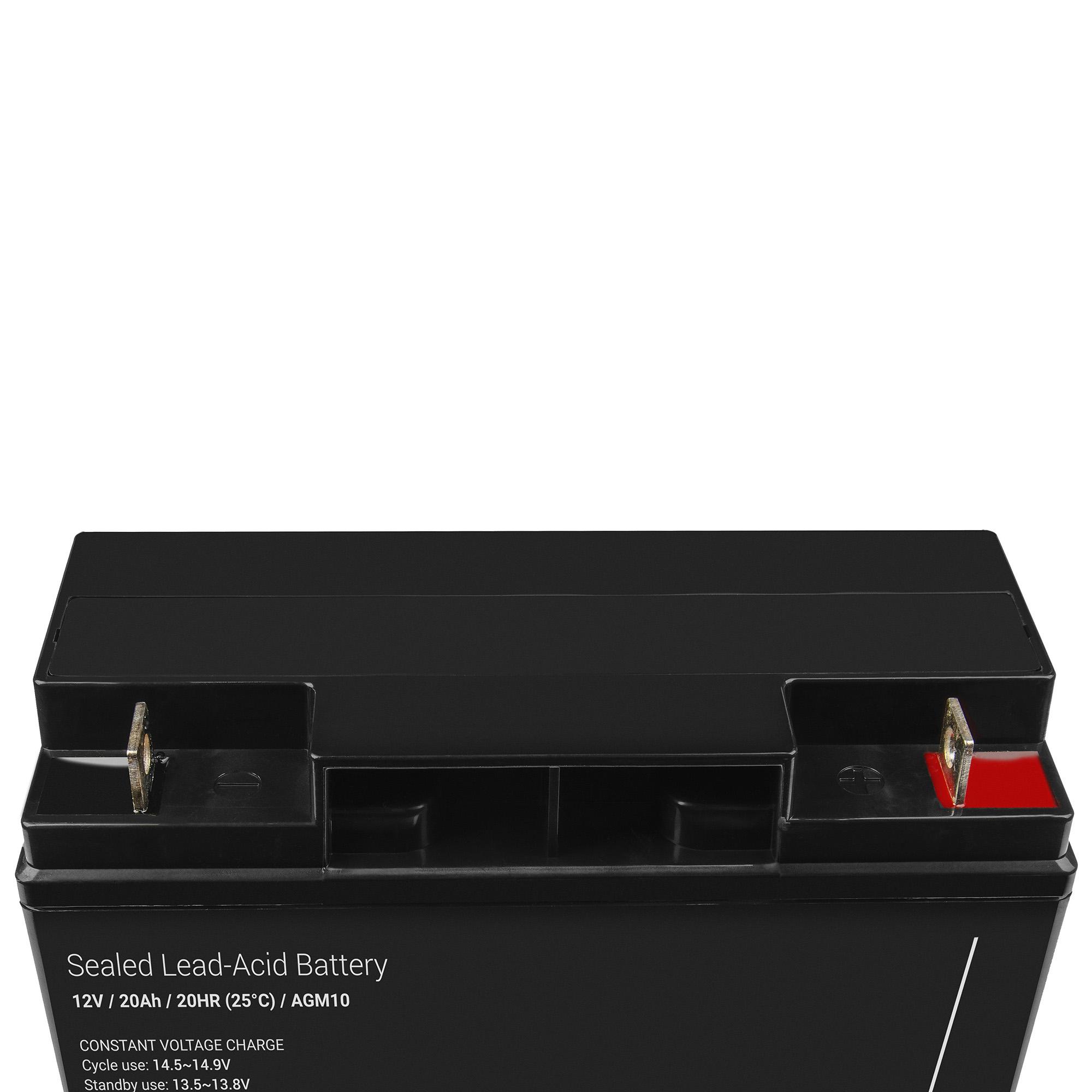 agm vrla battery for apc smart ups rm su3000rmx93 20ah. Black Bedroom Furniture Sets. Home Design Ideas