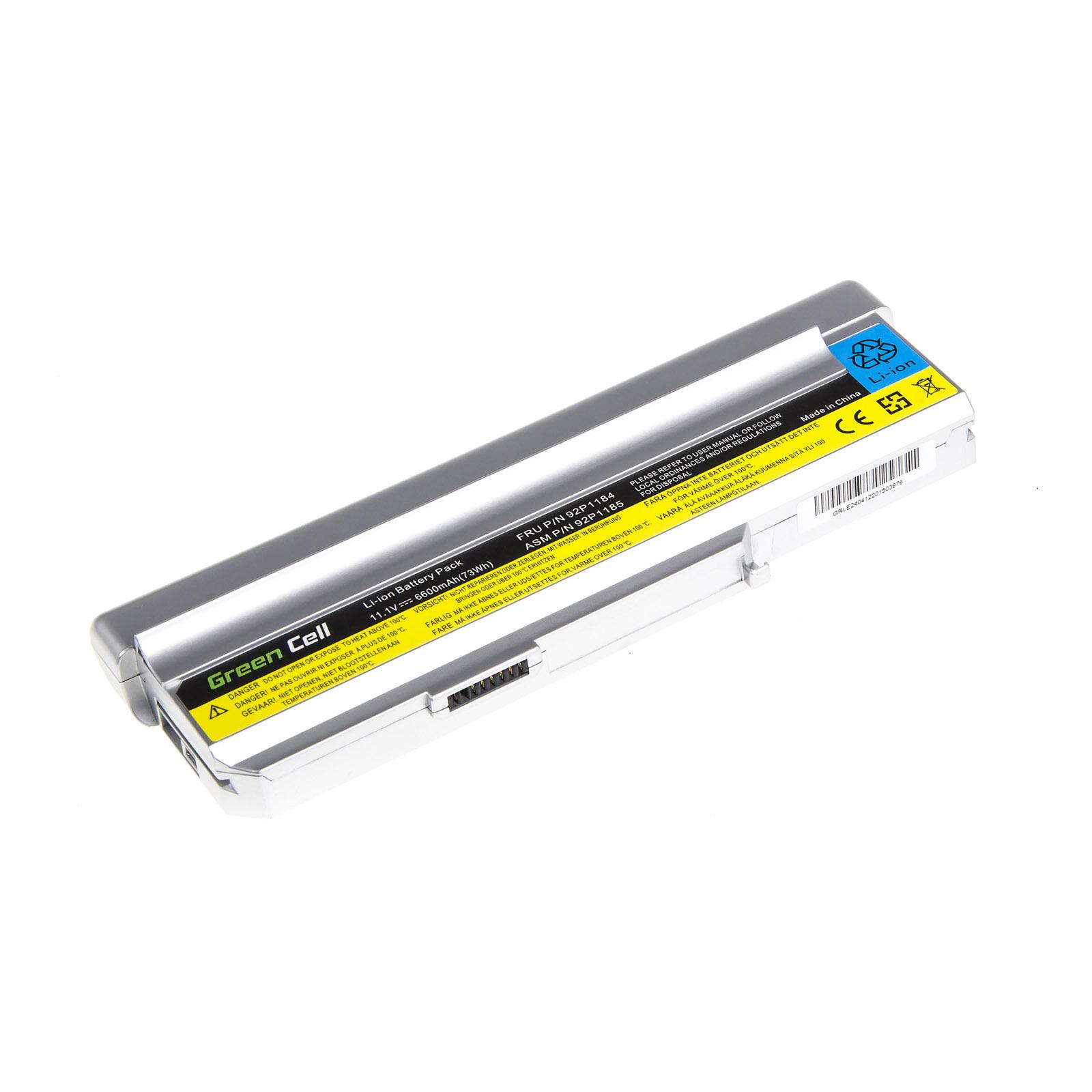 battery for lenovo 3000 n100 n200 c200 laptop 6600mah