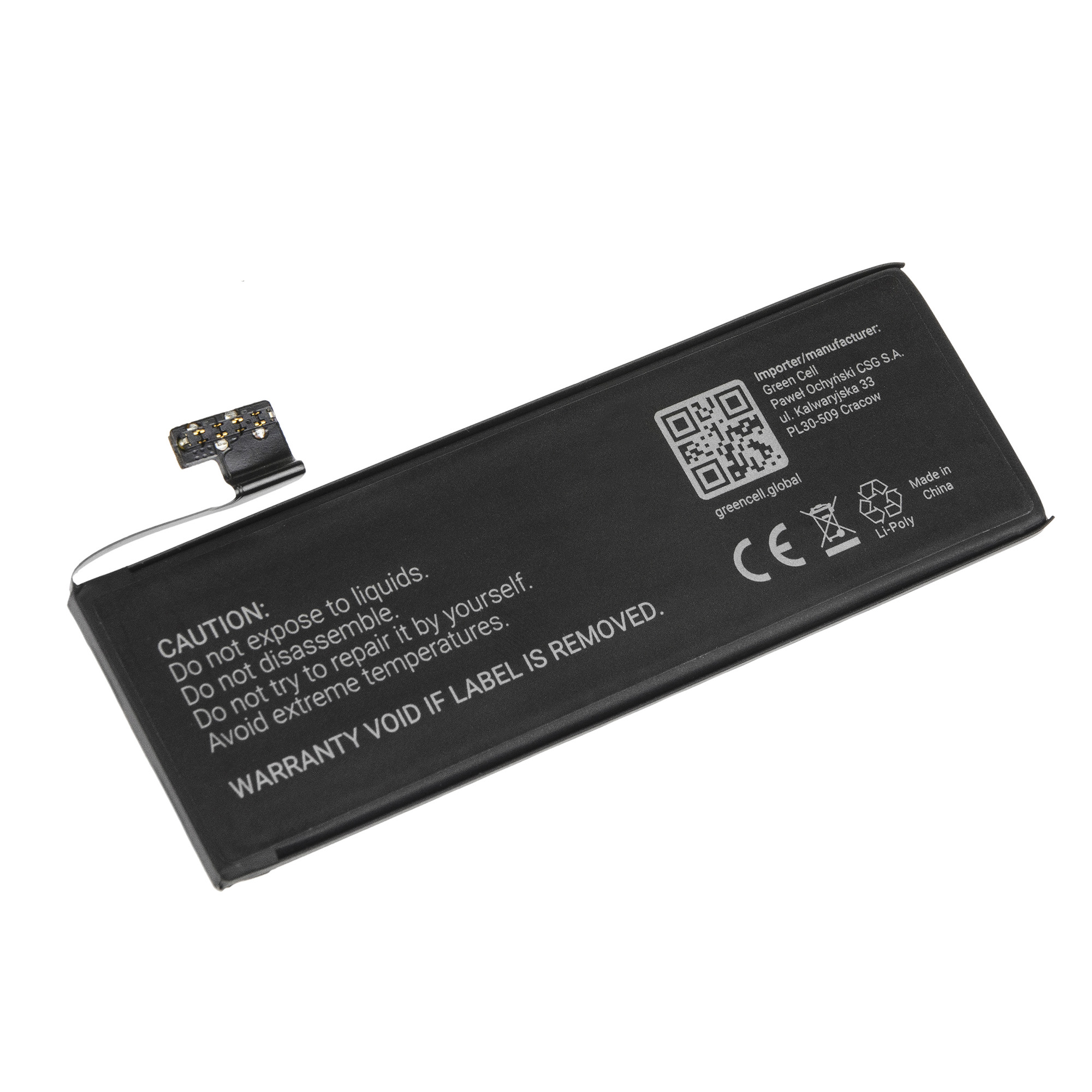 Battery for Apple iPhone 5 16GB 32GB 64GB A1428 A1429 ...