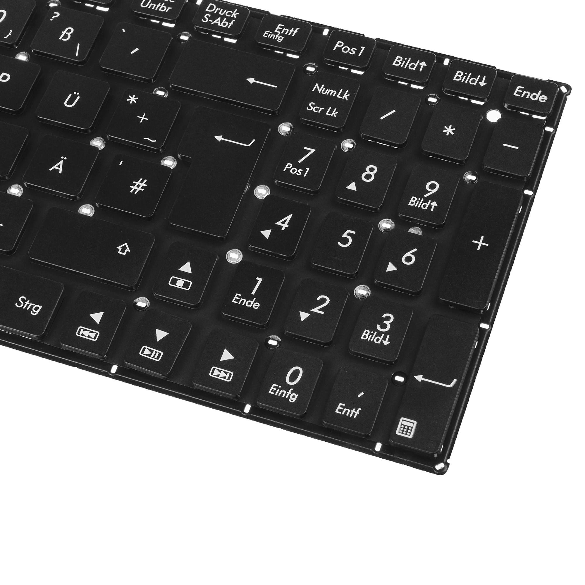Tastatur f/ür Asus X550 X550C X550CA R751 R751J R751JA F751 F751L F75LD F751LDV DE